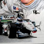 Mika Hakkinen / McLaren MP4-14 Limited Edition Print