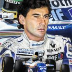 Ayrton Senna / Williams FW16 Limited Edition Print